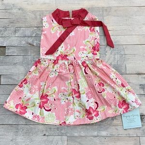 Persnickety Floral Mauve Dress Size 12mo